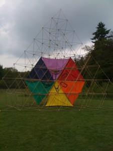 piramide  uit twee delen